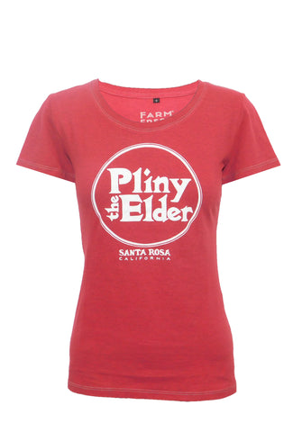 Pliny the Elder Ladies Tee - Red
