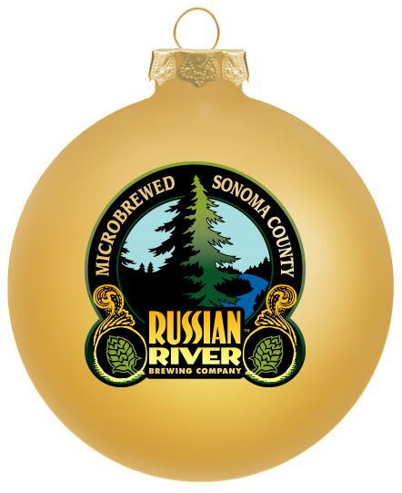 Russian River Brewery Christmas Ornament