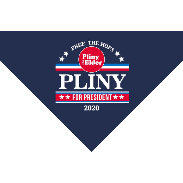 Pliny for President Dog Bandanna