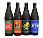Bottles Pliny the Elder/Blind Pig/Happy Hops/STS Pils mixed 12pk 510 ML *SHIPPING IN CA ONLY*