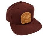 Russian River Brewing Wood Logo Snapback  Hat
