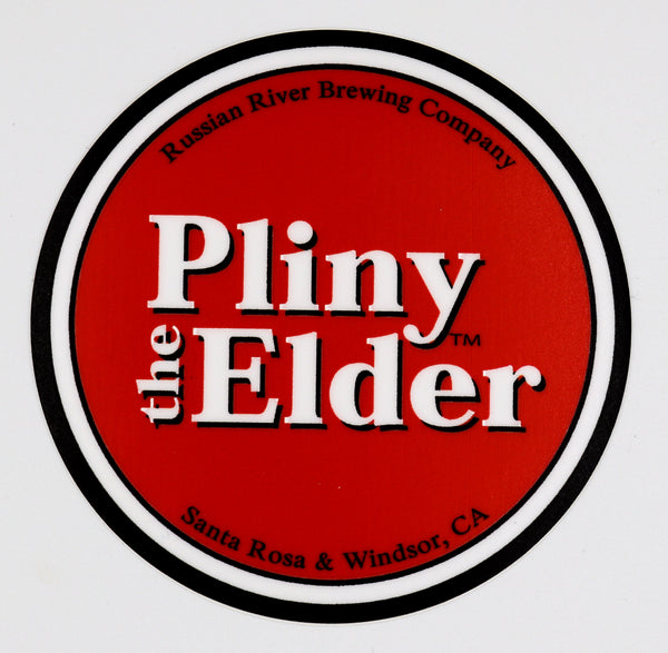 Small Pliny the Elder Sticker