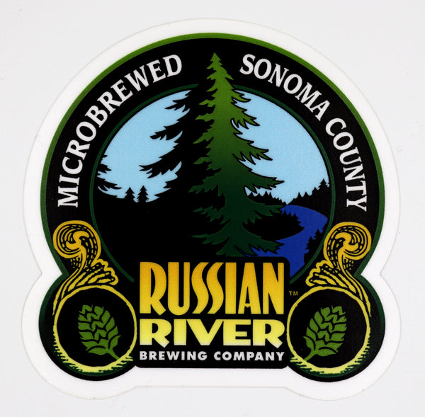 Small Russian River Sticker