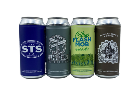 CANS STS Pils/Citra Flash Mob Pale/Row 2 Hill 56/RR Porter- 16 pk Case *SHIPPING IN CA ONLY*