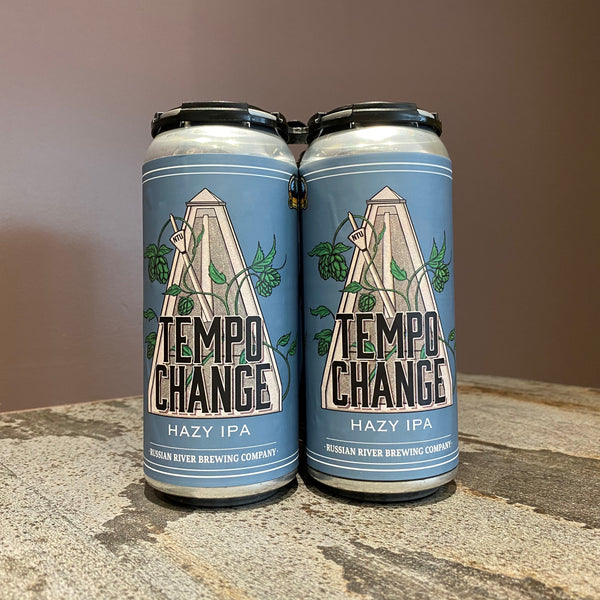 CANS *Pre-Sale* Tempo Change Hazy IPA 24 pk Case (ready to ship 4/1) *SHIPPING IN CA ONLY