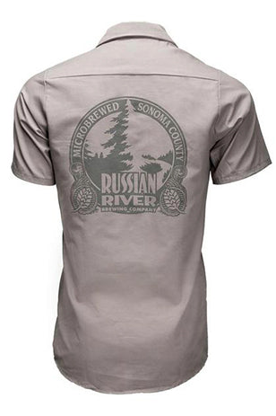RRBC Work Shirt - Gray with Embroidered Detail