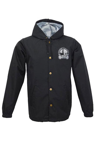 RRBC Black Windbreaker
