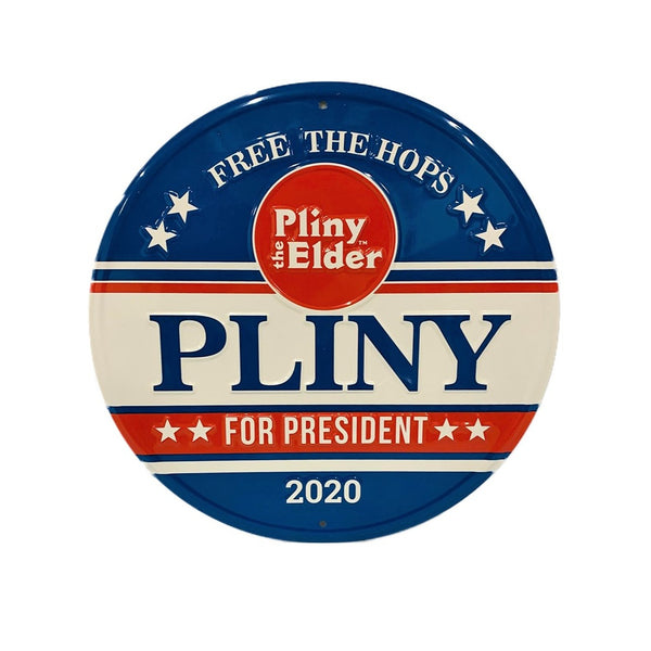 Pliny for President  Metal Tacker