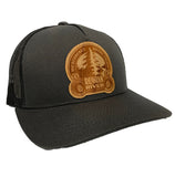RRBC Wood Logo Trucker Hat
