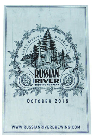 Russian River Brewery Grand Opening Poster