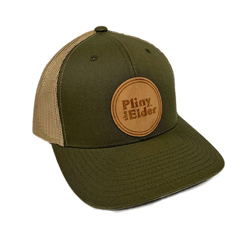 Pliny the Elder Wood Logo Trucker Hat