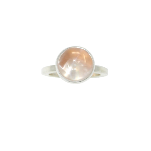 ILLUSION Ring / Sterling Silver + Rose Gold