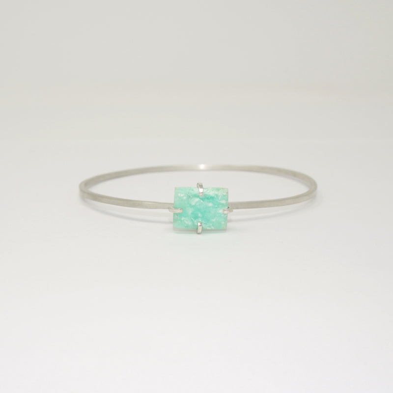 Stacking Cuff / Chrysoprase