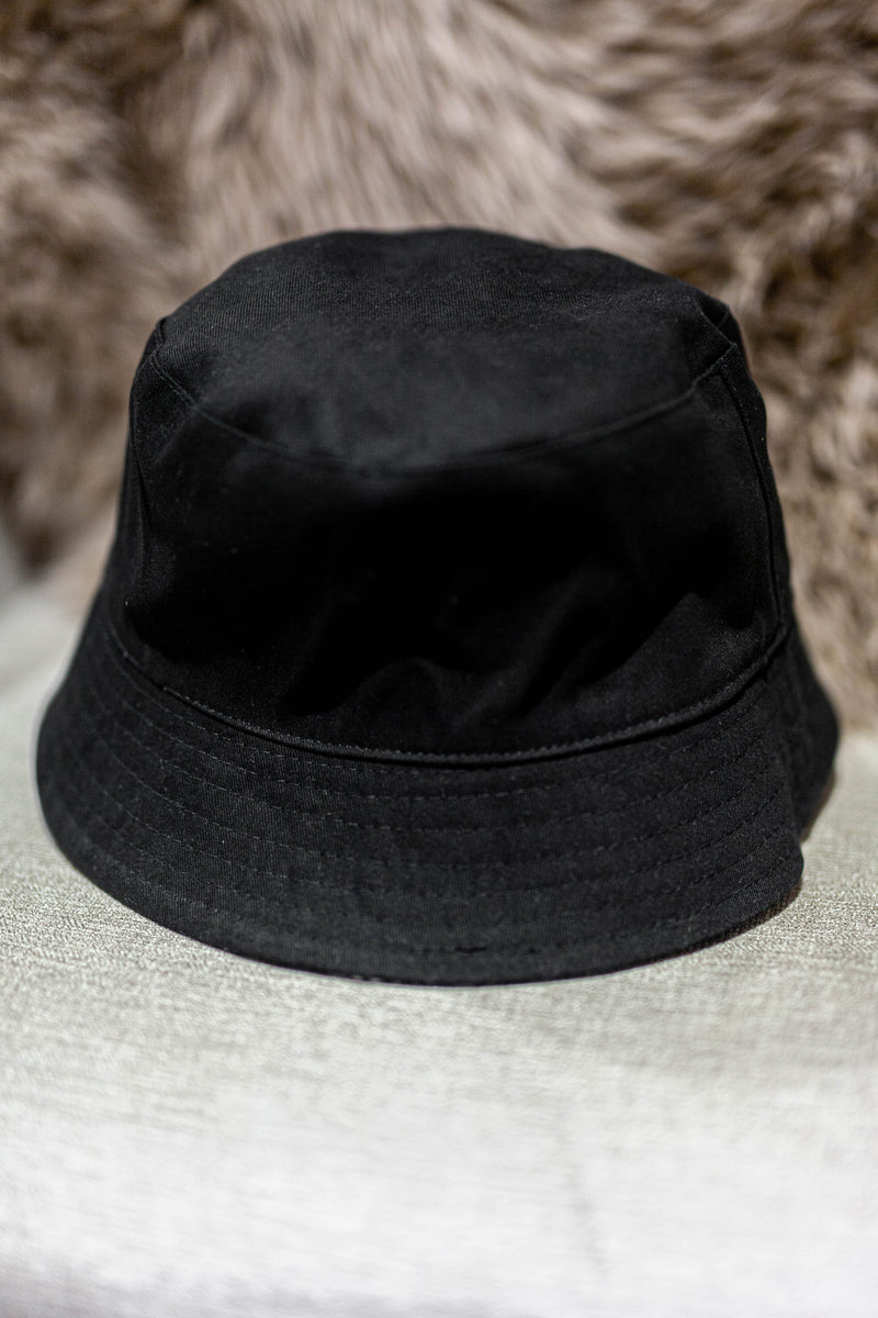 Snake Skin Reversible Bucket Hat