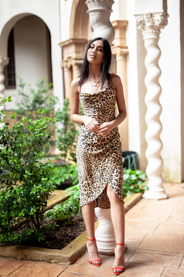 Emme Cheetah Dress
