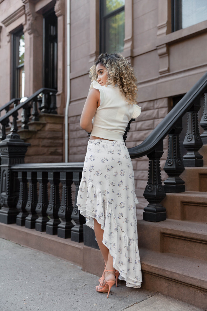 Central Park High Low Skirt
