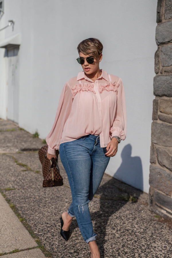 Pink Lady Blouse