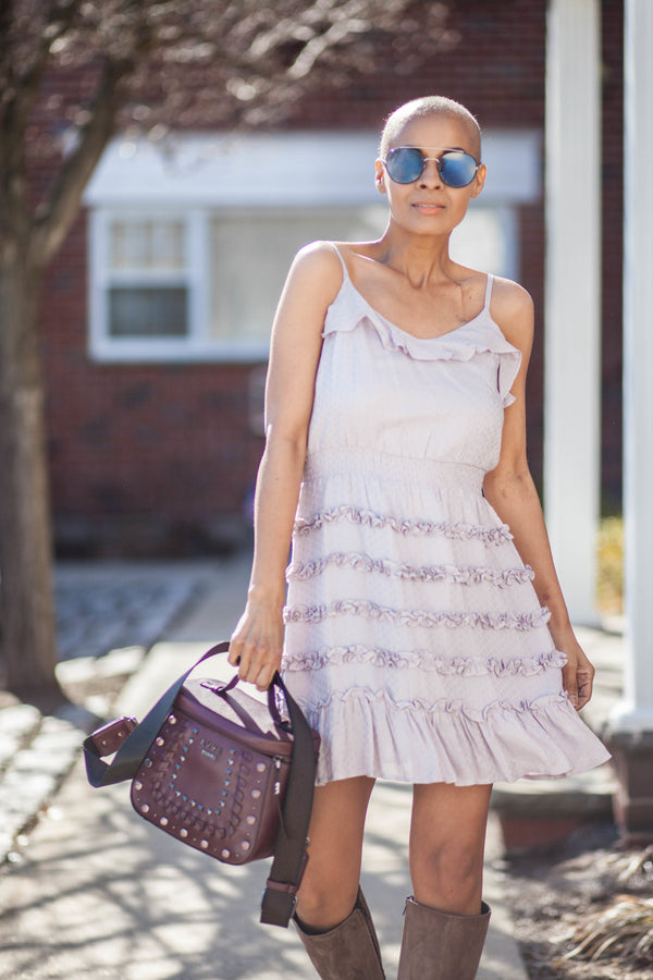 Poppy Lavender Dress
