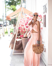 PEACHY CUT OUT JUMPSUIT