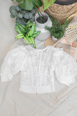 Coquito Lace Top