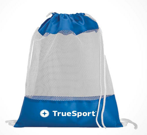 TrueSport Mesh Drawstring Bag