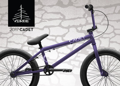 New Color! 2017 Cadet In Matte Purple