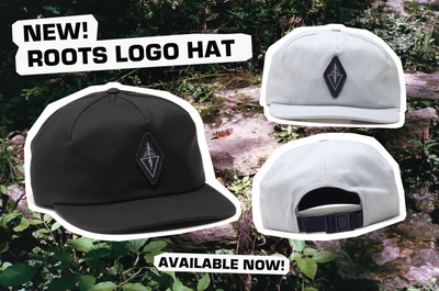New Roots Logo Hat Available Now!