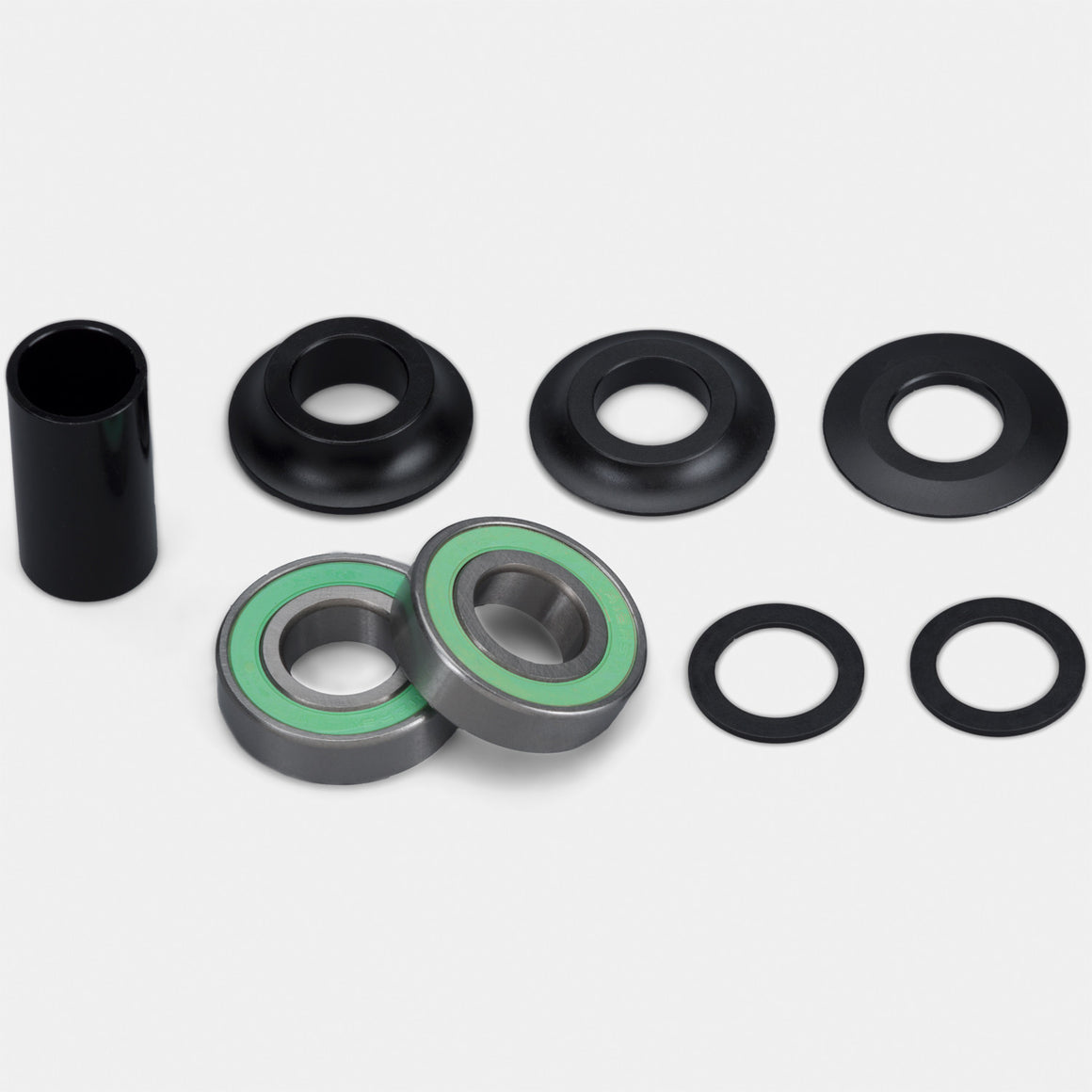 Verde BMX Mid bottom bracket kit — 19mm or 22mm