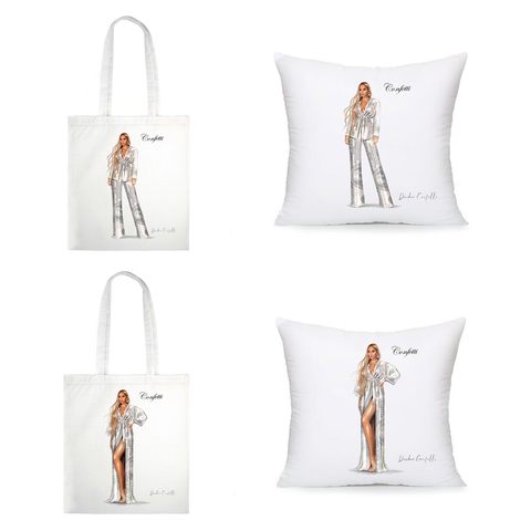 Benjamin Merch ( Totes & Pillows )