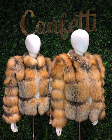 Confetti Cross Fox Jacket
