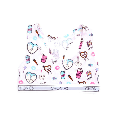 Chonies Vices Sports Bra
