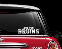 Boston Bruins Decal Sticker NHL Hockey