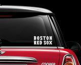 mlb sticker mlb decals boston redsox graphic