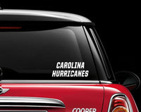 Carolina Hurricanes Decal Sticker NHL Hockey