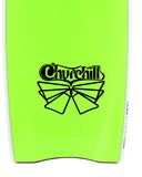 Churchill Fins Decal Sticker Graphic