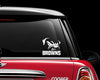 Cleveland Browns Dog Decal Sticker NFL Football
