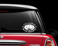 Columbus Blue Jackets Car Decal Sticker NHL Hockey