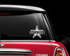 Dallas Cowboys Text Car Decal Sticker NFL Football