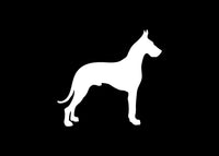 Great Dane Dog Pet Animal Decal Sticker Graphic - The Decal God