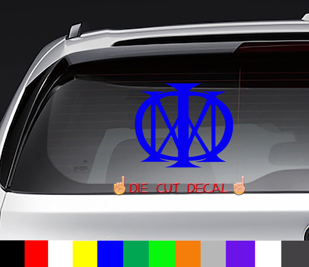 Dream Theater Decal Sticker Graphic metal
