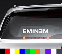 Eminem Decal Sticker Graphic rap