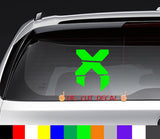 Excision Decal Sticker Graphic EDM festival EDC coachella