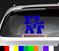 Subaru Flat Four Decal Sticker Graphic