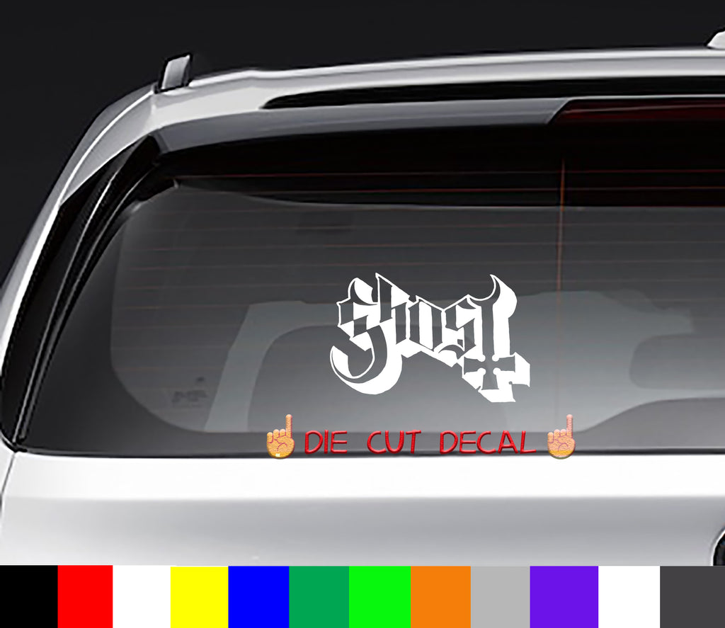 Ghost Decal Sticker Graphic
