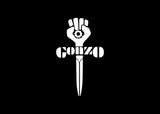 Gonzo Fist Decal Sticker