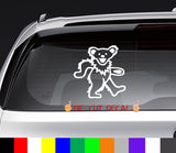grateful dead decal sticker