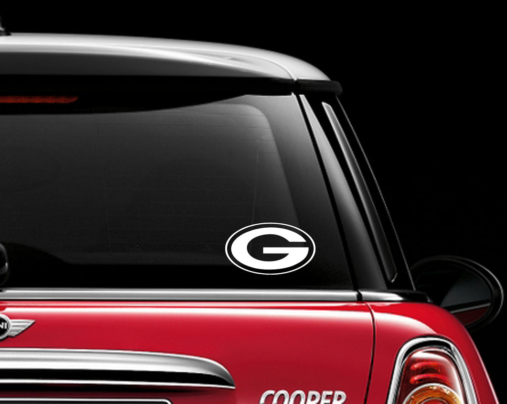 Green Bay Packers Decal Sticker NFL Football