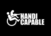 Handi Capable JDM Decal Sticker