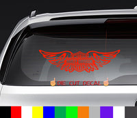 Harley Davidson Motorcycles Wings Decal Sticker