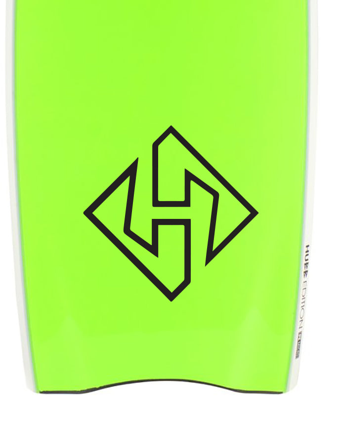 Hubboards Bodyboards Decal Sticker Graphic